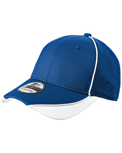 New Era NE1050  ®  - Contrast Piped BP Performance Cap.  Royal/White at bigntallapparel