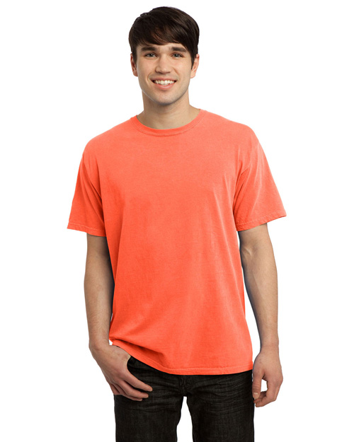 Port & Company PC099 Pigment-Dyed Tee. Neon Orange at bigntallapparel