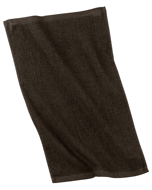 Port & Company PT38 Rally Towel Brown at bigntallapparel