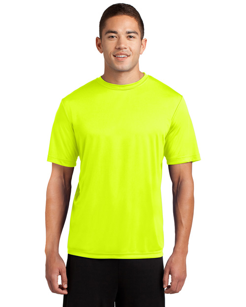 Sport-Tek TST350 Men Tall Competitor? Tee Neon Yellow at bigntallapparel