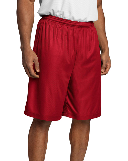 Sport-Tek T560 PosiCharge Mesh™ Reversible Short. True Red at bigntallapparel
