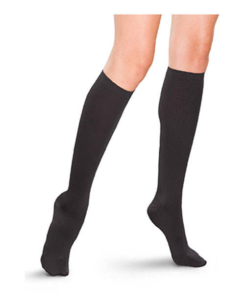 Therafirm TF685  1520 Mmhgtrouser Sock Black at bigntallapparel