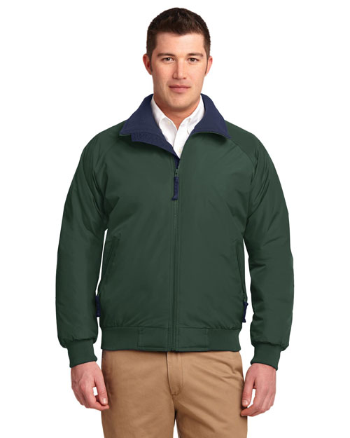 Port Authority TLJ754 Mens Challenger Jacket True Hunter/True Navy at bigntallapparel