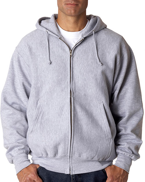 Weatherproof 7711 1oz Cross Wve Zip Hd Heather at bigntallapparel