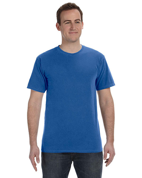 Authentic Pigment 1969 5.6 Oz. Pigment-Dyed & Direct-Dyed Ringspun T-Shirt at bigntallapparel