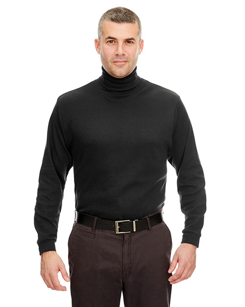 UltraClub 8516 Interlock Turtleneck at bigntallapparel
