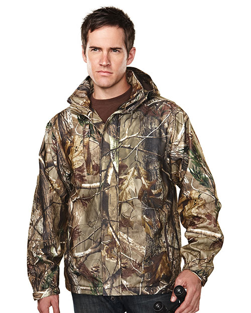 Tri-Mountain 9486C Men's 100% Polyester Camo Jacke
