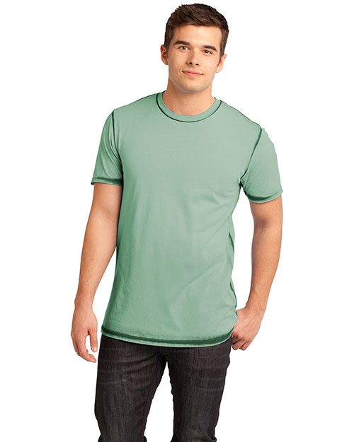 District Threads DT1200 District® Young Mens Faded Crew Tee at bigntallapparel