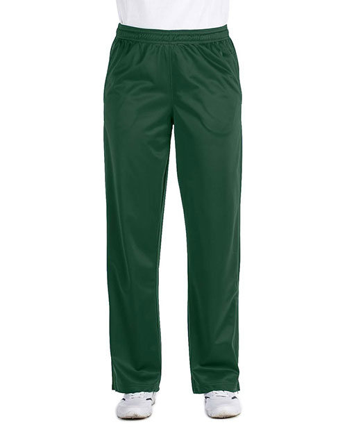 Harriton M391W Ladies' Tricot Track Pants at bigntallapparel