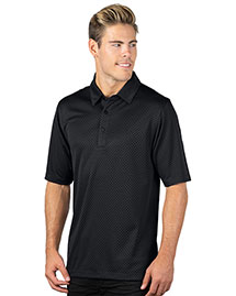 Tri-Mountain 038 Men 100% Polyester Knit Polo Shirts