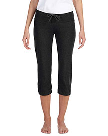 Bella 0816 Ladies' Capri Scrunch Pant at bigntallapparel