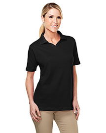 Tri-Mountain 091 Womens 60/40 Johnny Collar Easy Care Golf Shirt at bigntallapparel