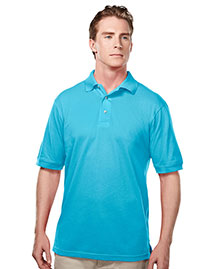 Tri-Mountain 095 Men Element Easy Care Short Sleeve Pique Golf Shirt