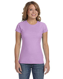 Bella 1001 Women WoBaby Rib Short-Sleeve T-Shirt