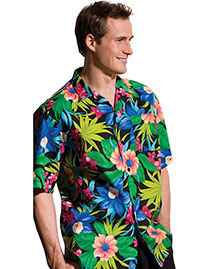 Edwards 1015 Men  Hawaiian Camp Shirt