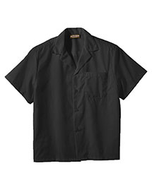 Edwards 1029 Men  Easy Care Poplin Camp Shirt