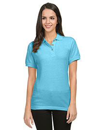 Tri-Mountain 102 Women Wo60/40 Pique Golf Shirt