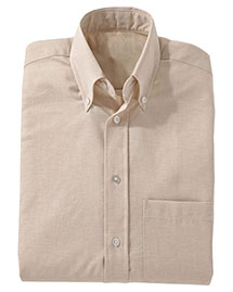 Edwards 1077 Men Easy Care Long Sleeve Oxford
