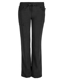 Cherokee 1123AP Women Low Rise Straight Leg Drawstring Pant