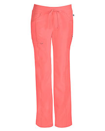 Cherokee 1123A Women Low Rise Straight Leg Drawstring Pant