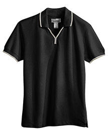 Tri-Mountain 112 Womens 60/40 Ultracool Mesh Johnny Collar Golf Shirt at bigntallapparel
