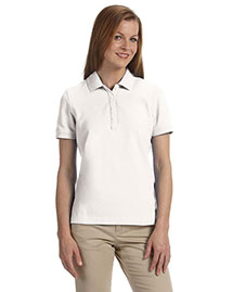 Ashworth 1146C Ladies' Combed Cotton Piqué Polo at bigntallapparel