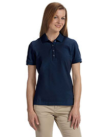 Ashworth 1146C Women Combed Cotton Pique Polo