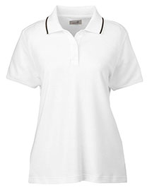 Ashworth 1149C Women Performance Wicking Blend Polo at bigntallapparel