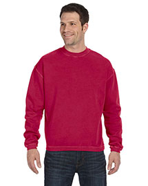 Authentic Pigment 11561 Men  11 Oz. Pigment-Dyed Ringspun Cotton Fleece Crew