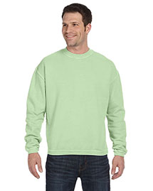 Authentic Pigment 11561 11 Oz. Pigment-Dyed Ringspun Cotton Fleece Crew at bigntallapparel