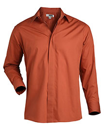 Edwards 1290ED Men's Long Sleeve Cafe Shirt at bigntallapparel