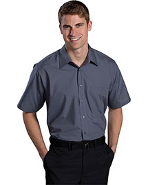Edwards 1313 Men Short Sleeve Value Broadcloth Shirt