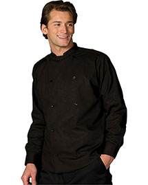Edwards 1351 Unisex Double Breasted Server Shirt Long Sleeve at bigntallapparel