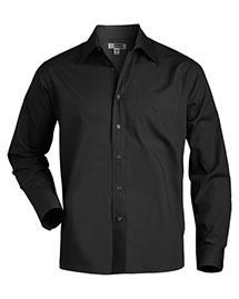 Edwards 1363 Men Long Sleeve Value Broadcloth Shirt