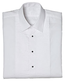 Edwards 1393 Women Tuxedo Shirt 1/4 Pleat