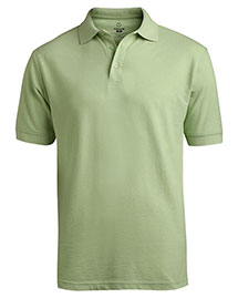 Edwards 1500 Men Short Sleeve Soft Touch Blended Pique Polo at bigntallapparel