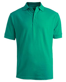 Edwards 1500ED Men's Short Sleeve Soft Touch Blended Pique Polo at bigntallapparel