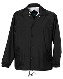 Tri-Mountain 1500 Mens Nylon Coachs Jacket With Flannel Lining at bigntallapparel