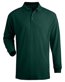 Edwards 1540 Unisex Cotton Long Sleeve Pique Polo at bigntallapparel