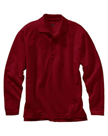 Edwards 1578 Unisex Dry-Mesh Long Sleeve Polo at bigntallapparel