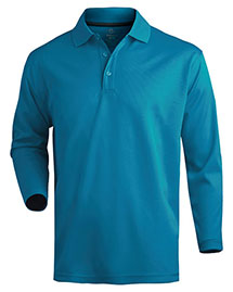 Edwards 1578 Men  Dry-Mesh Long Sleeve Polo