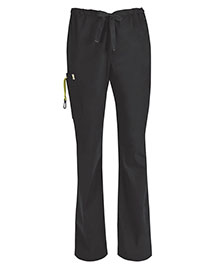 Code Happy 16001a Women Drawstring Cargo Pant