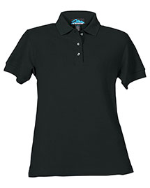 Tri-Mountain 166 Women Cotton Pique Golf Shirt
