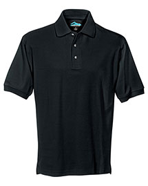 Tri-Mountain 168 Men Pique Polo Golf Shirt at bigntallapparel