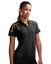 Tri-Mountain 171 Women 100% Polyester Uc Knit Polo Shirt at bigntallapparel