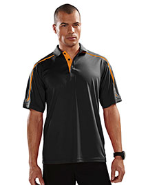 Tri-Mountain 174 Men 100% Polyester Uc Knit Polo Shirt