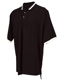 Tri-Mountain 179 Men Big And Tall Pique Pocketed Polo Golf Shirt With Trim