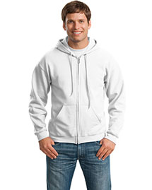 Gildan 18600 Men Heavy Blend Full Zip Hoodie at bigntallapparel