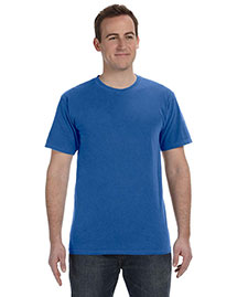 Authentic Pigment 1969 Men 5.6 Oz. Pigment-Dyed & Direct-Dyed Ringspun T-Shirt