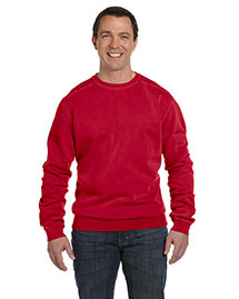 Authentic Pigment 1975 Men  11 Oz. Pigment-Dyed Fleece Crew